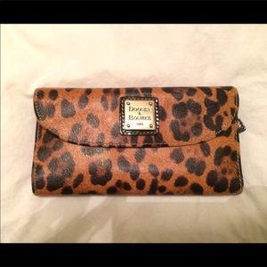 Dooney and Burke Leopard Wallet
